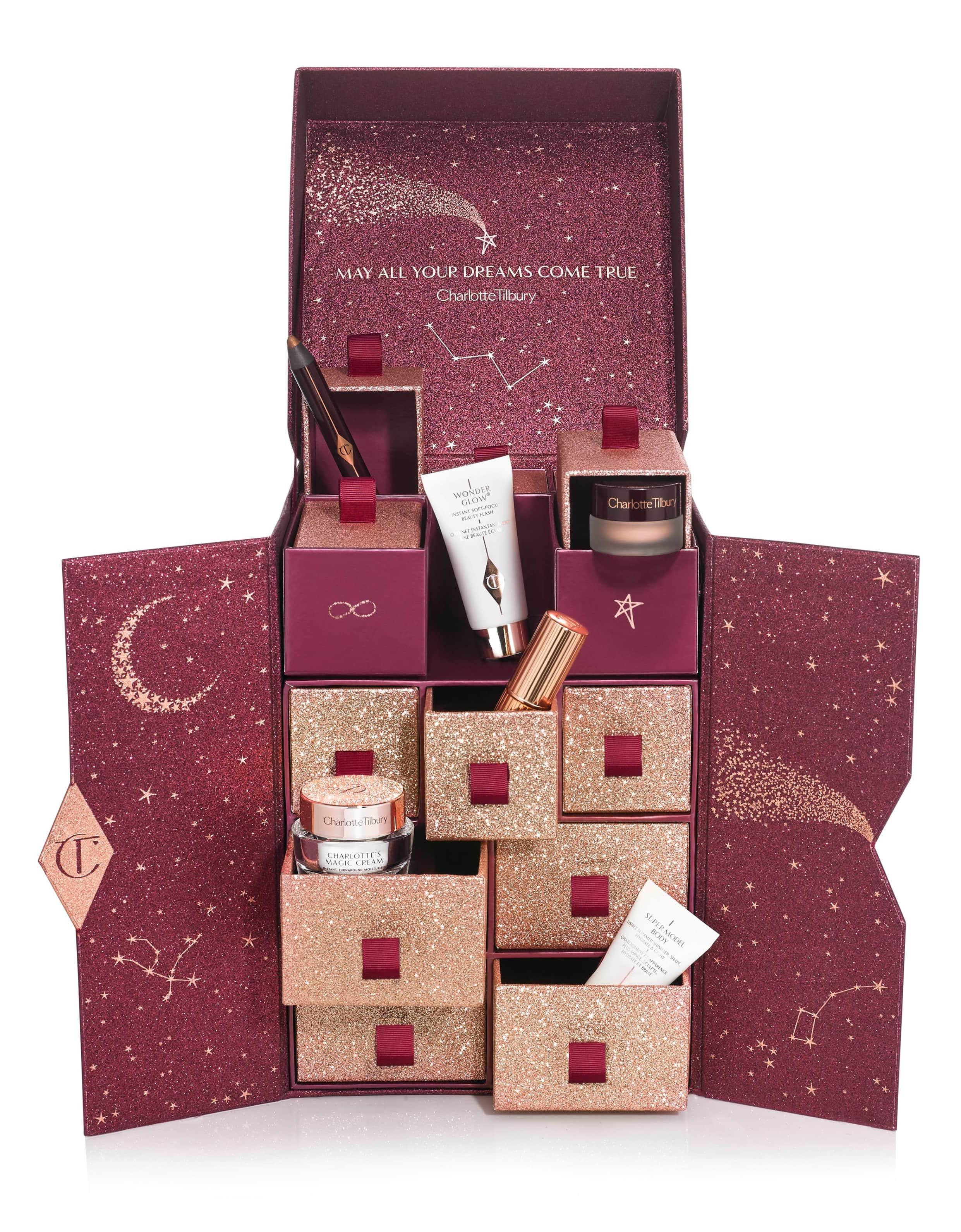 charlotte tilbury advent calendar skincare beauty set