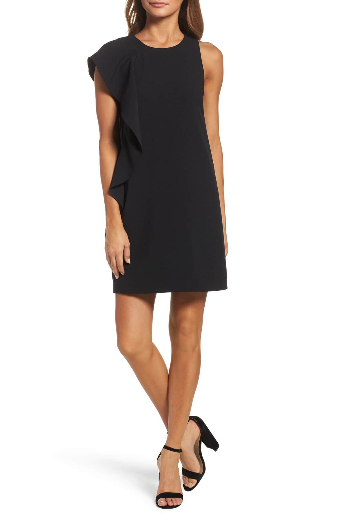 Shop This Ruffle Shift Dress On Sale At Nordstrom
