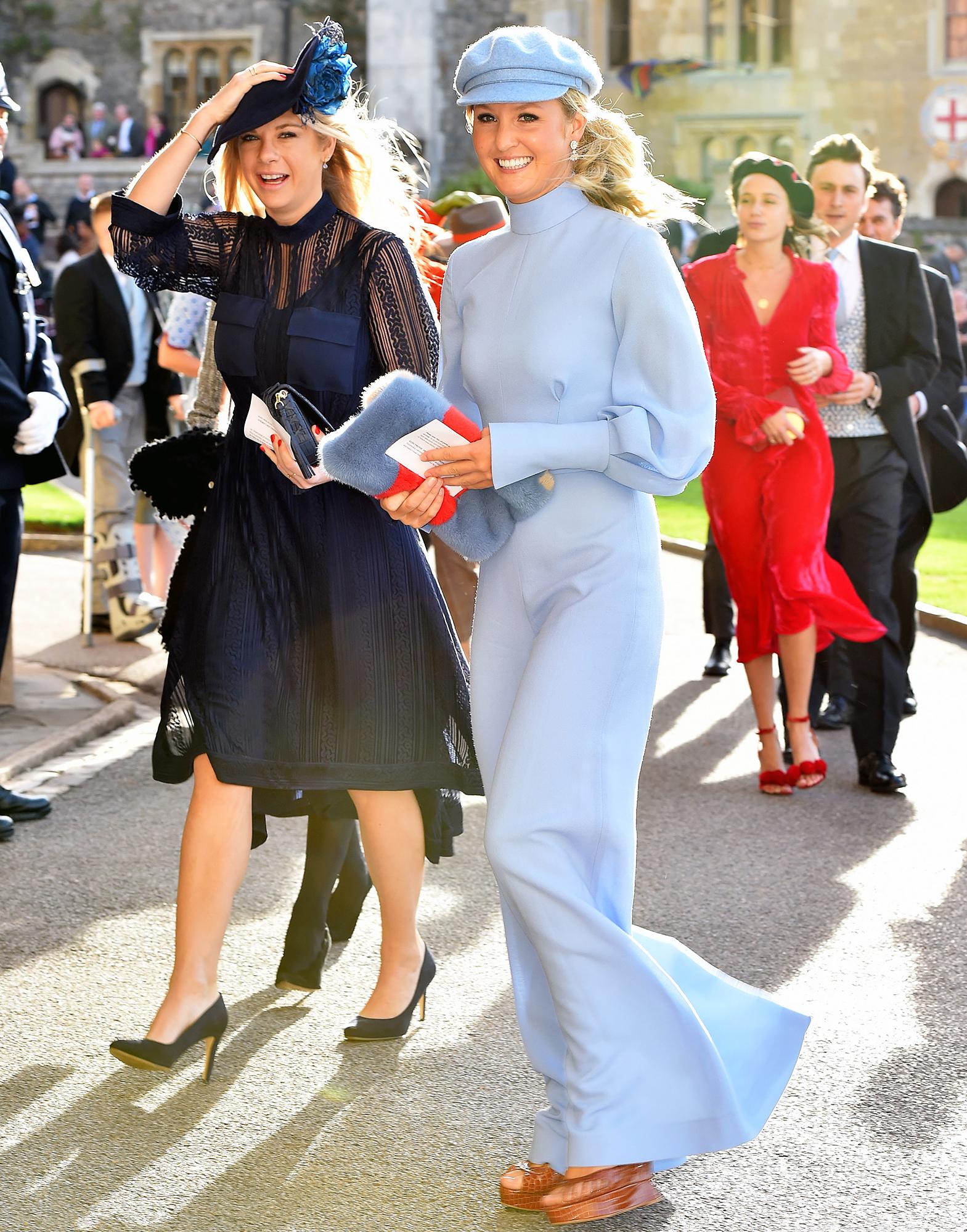 Chelsy Davy Princess Eugenie Wedding Prince Harry Ex