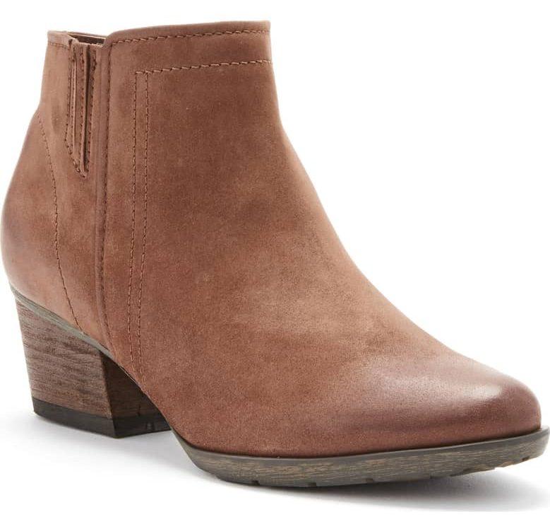 cognac blondo valli ankle boot