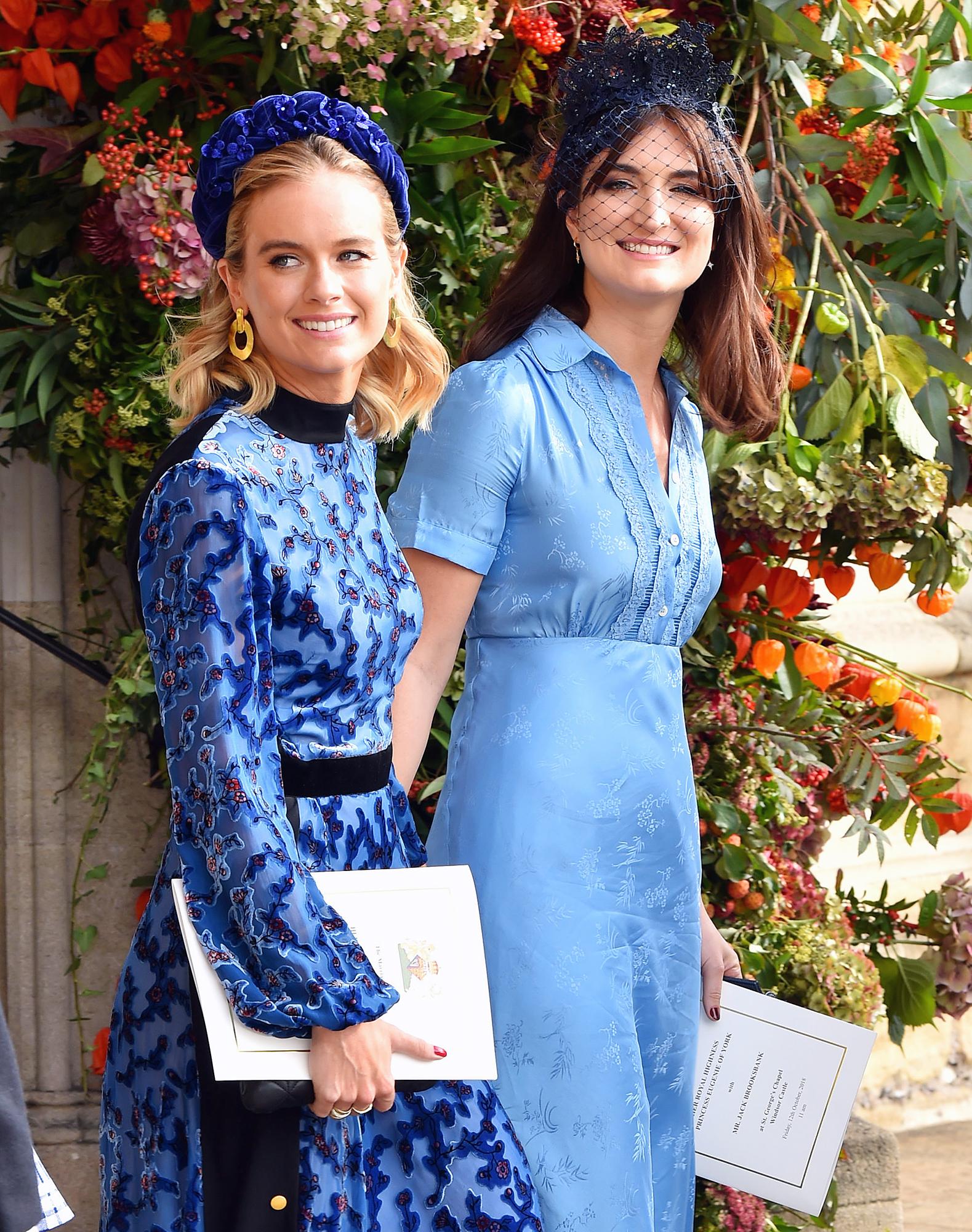 Cressida Bonas Princess Eugenie Wedding Prince Harry Ex