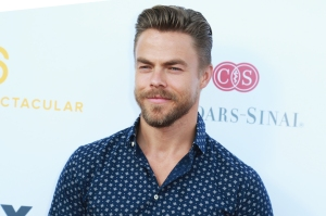 Derek Hough's stray cat falling ill and then beating the odds