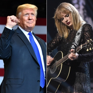 Remember That Time Donald Trump Listened to Taylor Swift's 'Blank Space' in the Car With Melania?