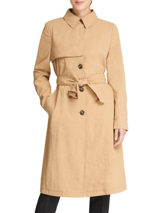 donna karan new york trench coat