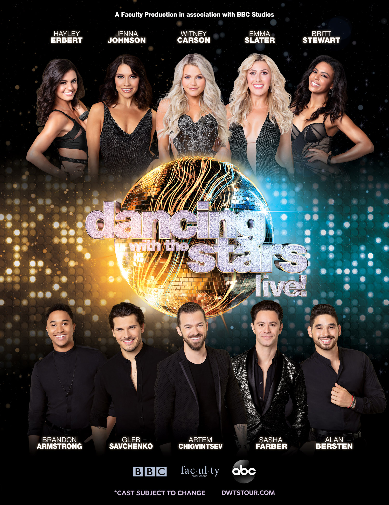 Dancing With the Stars: Live!' Winter Tour: Meet the Cast!