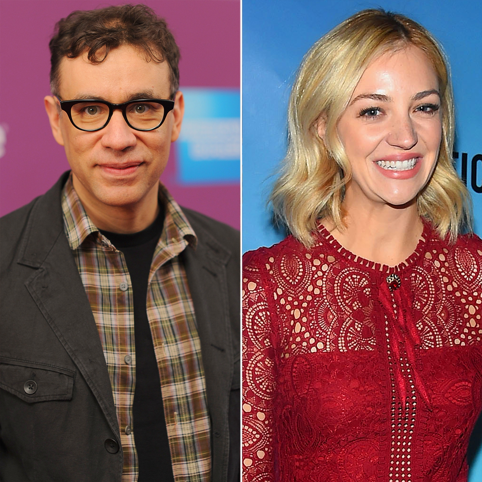 """hot rebound romance - Armisen licked the wounds from his June split from wife of eight months Elisabeth Moss ( Mad Men ) with his bubbly SNL costar Elliot. """"Fred sought comfort in [Abby],"""" a source says."""