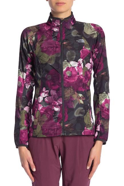 grape leaf print jacket north face