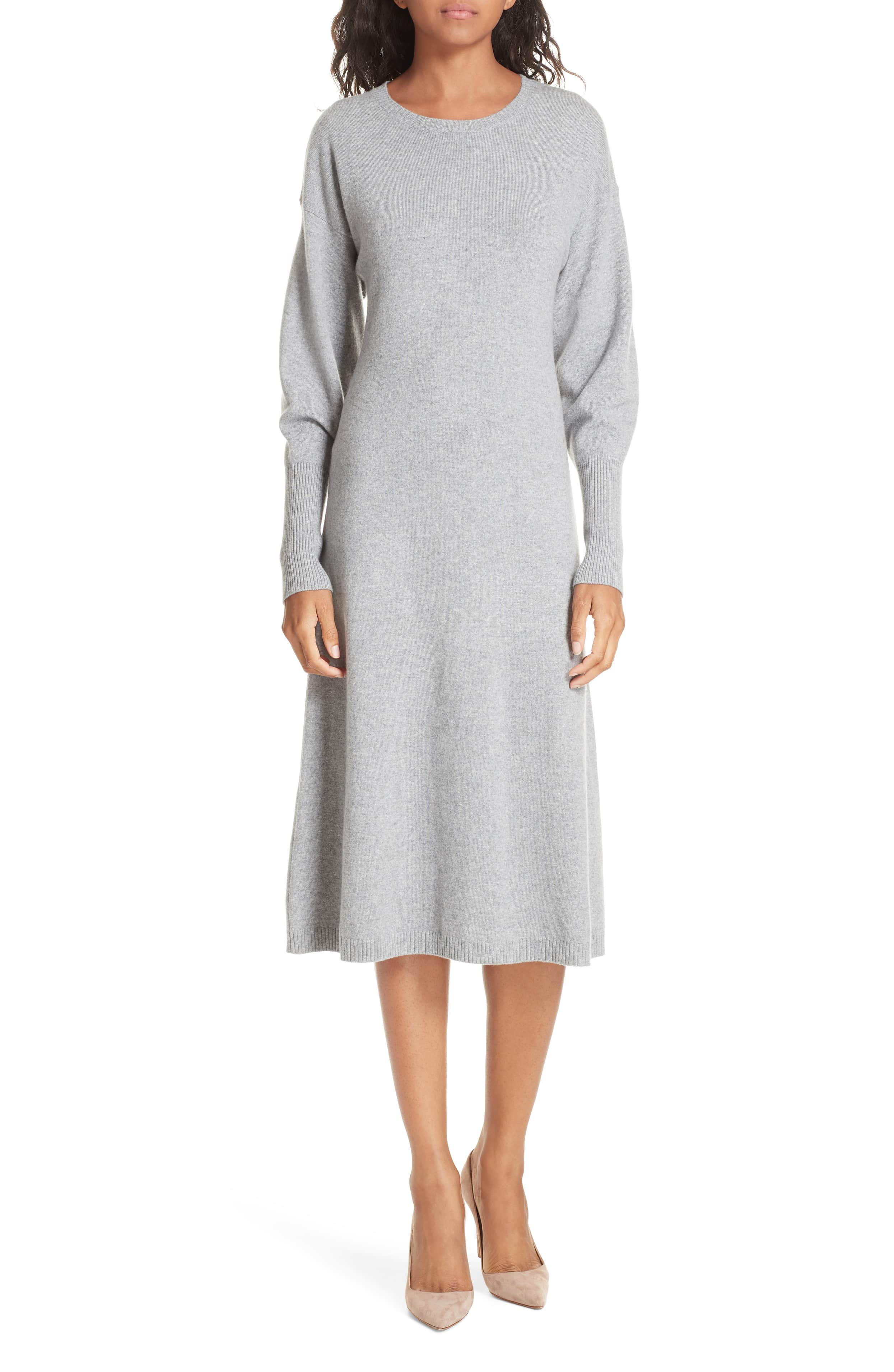 gray sweater dress nordstrom collection