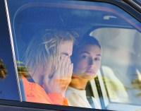 Justin Bieber Crying Car Hailey Baldwin
