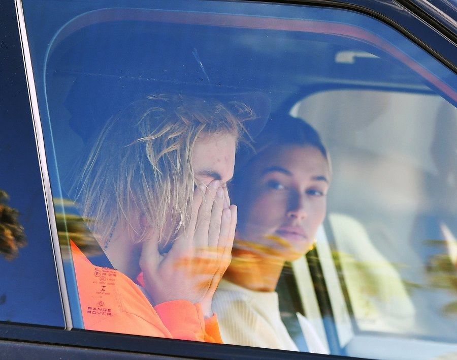 Justin Bieber Crying Car Hailey Baldwin