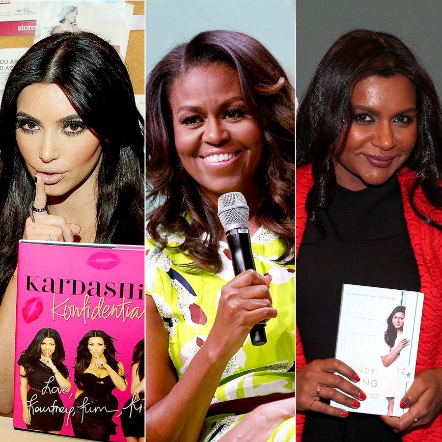 Kim Kardashain Michelle Obama Mindy Kaling
