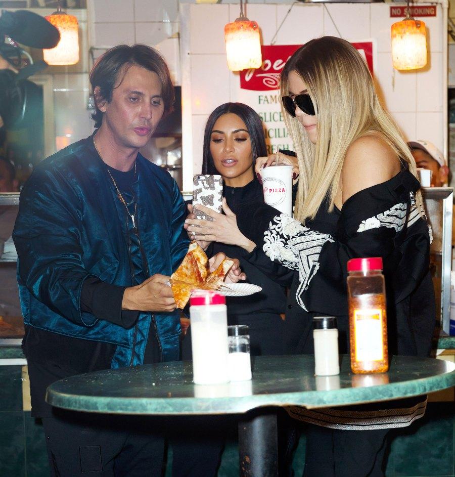 Jonathan Cheban, Kim Kardashian, Khloe Kardashian