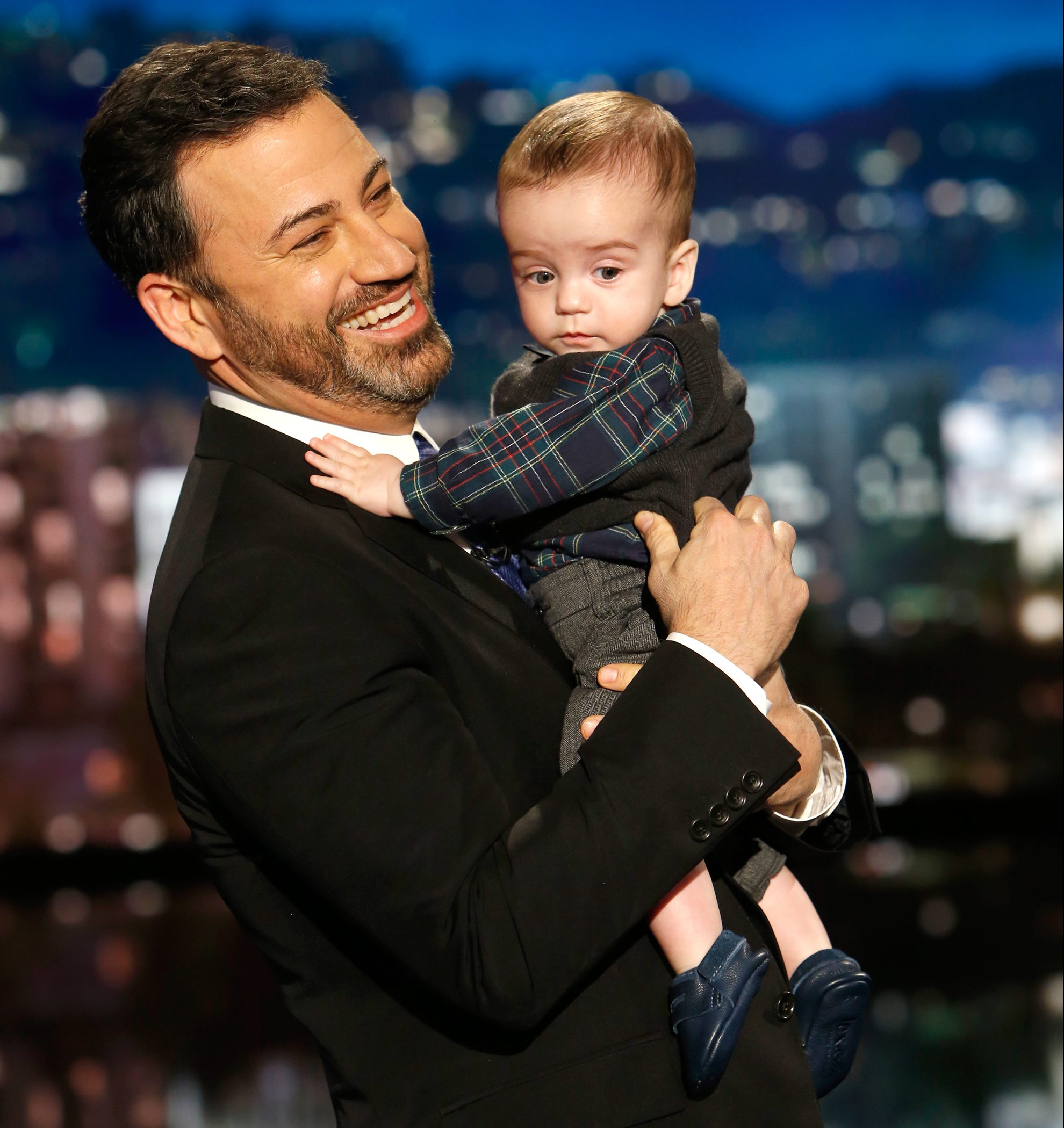 Jimmy Kimmel Has a Great Plan for Explaining Son Billy\'s Surgery Scar