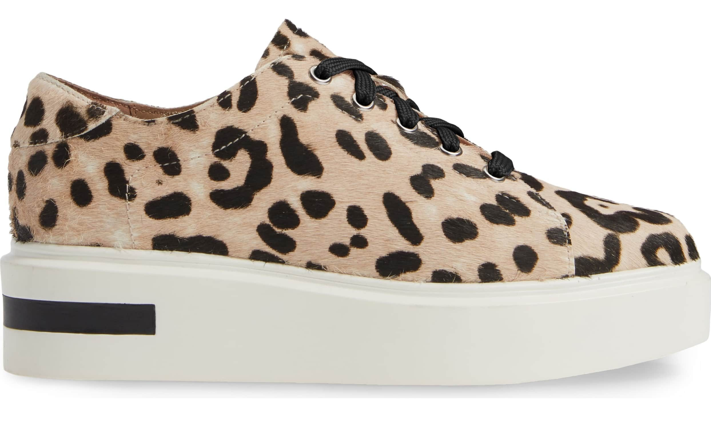 We're Stepping Up Our Sneaker Game With These Animal Print Platforms