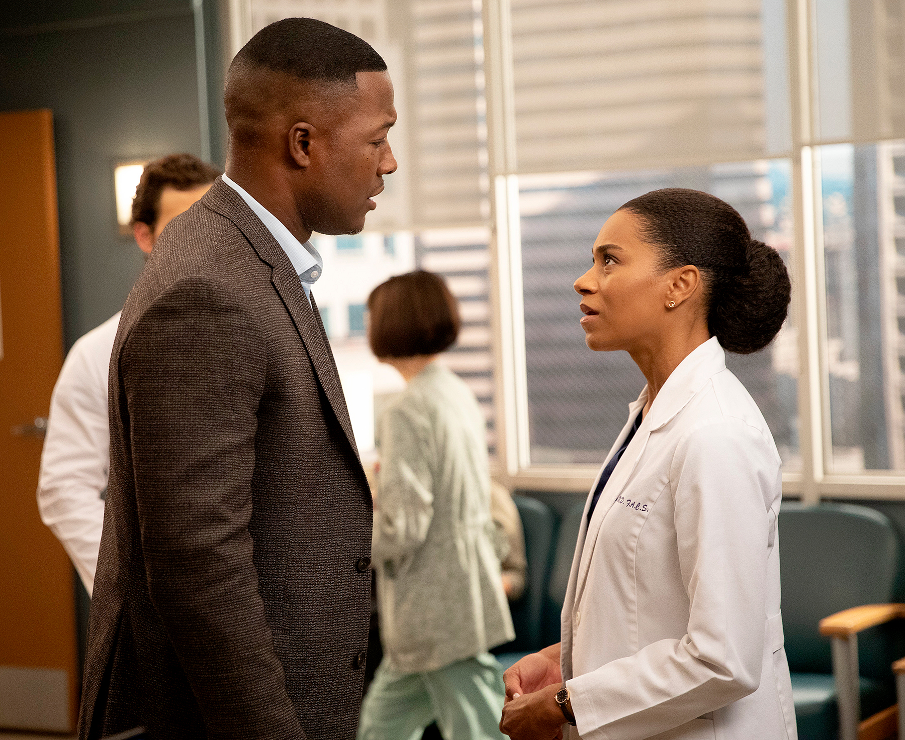 Flex Alexander and Kelly McCreary on Grey's Anatomy - Flex Alexander and Kelly McCreary on Grey's Anatomy