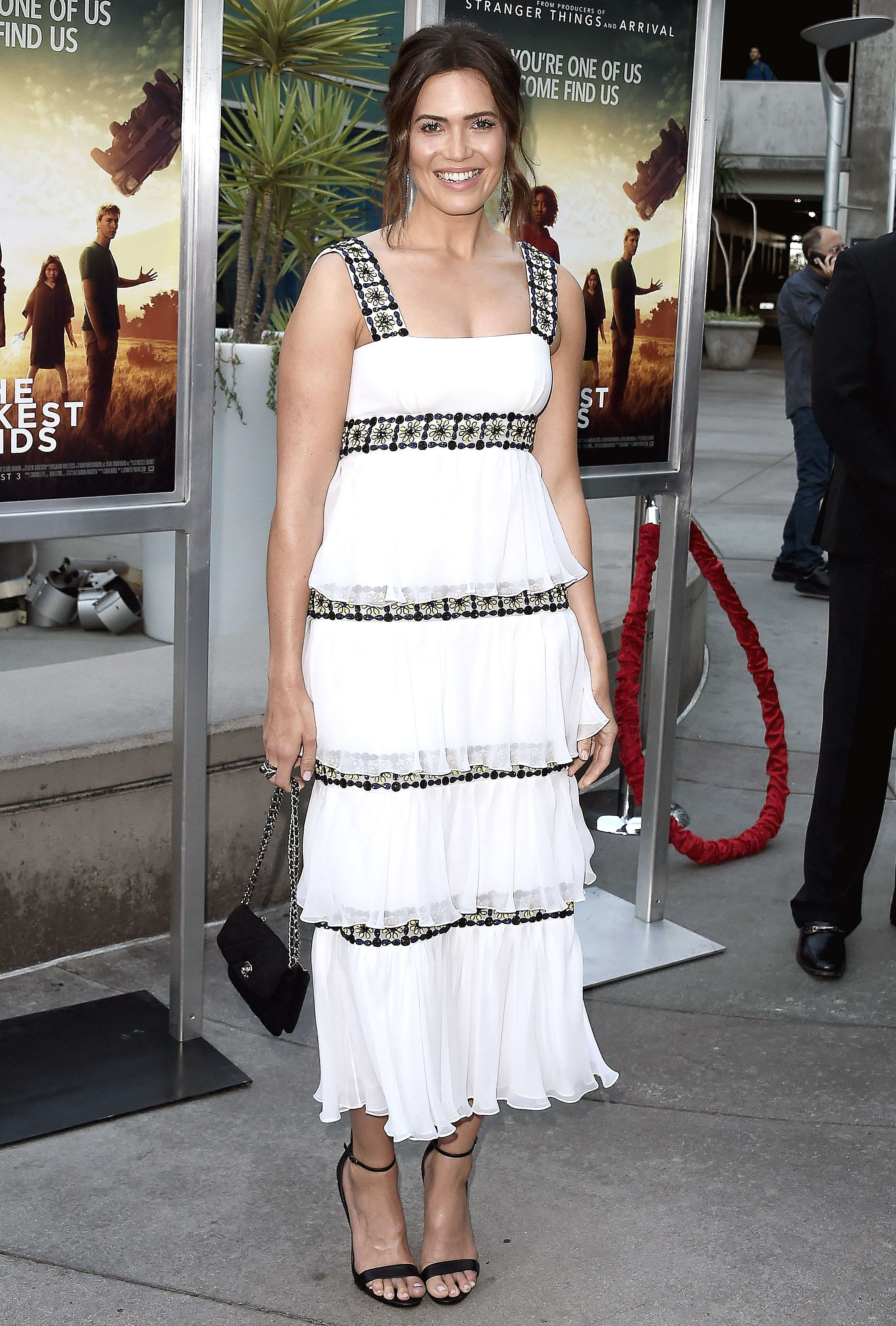 mandy-moore - In a $4,490 mosaic-adorned frock on July 26.