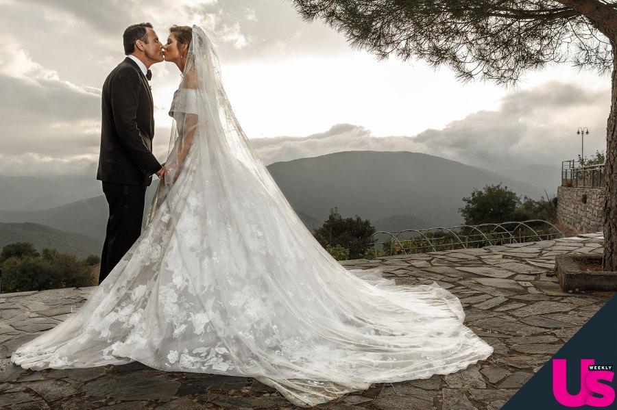Maria Menounos Kevin Undergaro Greece Second Wedding