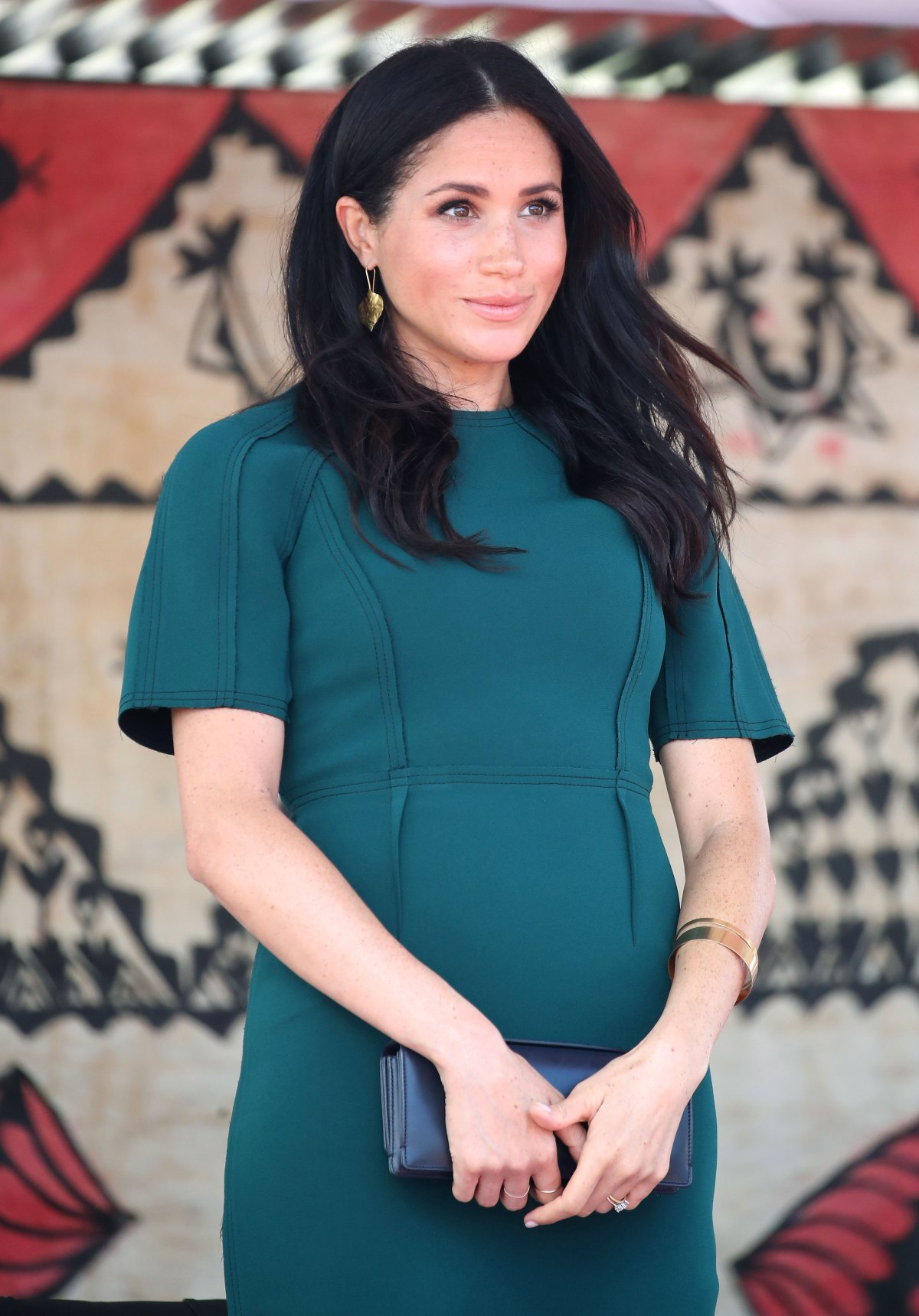 36fc5ea867e55 Duchess Meghan's First Pregnancy Was a Stylish One — See Her Best Maternity  Fashion Moments