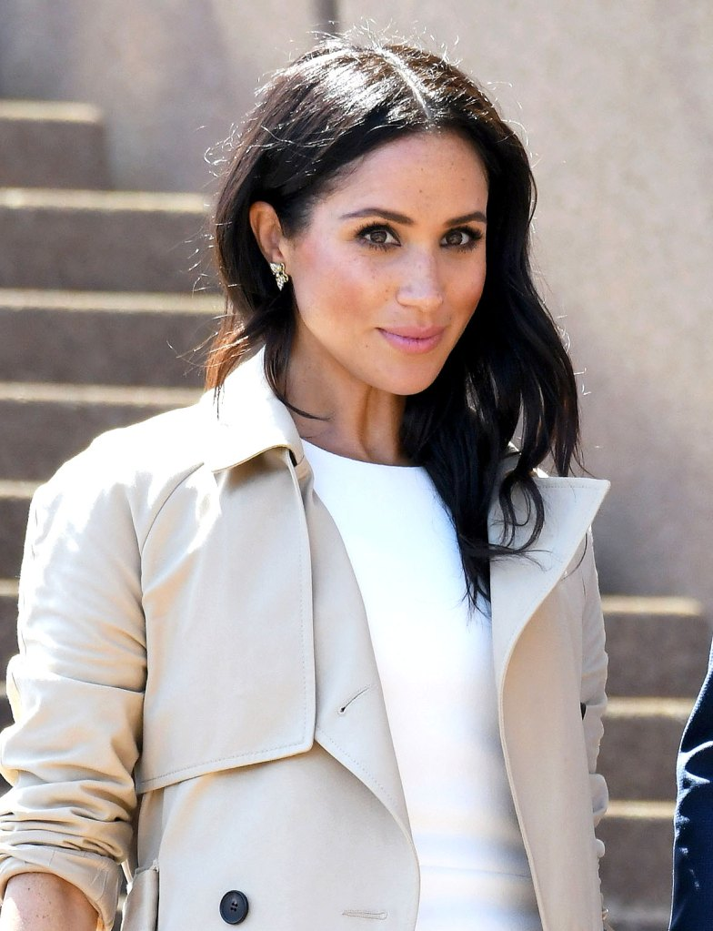 cf6662228ccac Get Tressed With Us': Meghan Markle Pregnancy Hair Color, Beauty