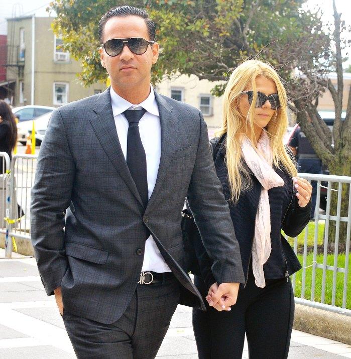Lauren Pesce Mike Sorrentino Court Tax Evasion Sentencing
