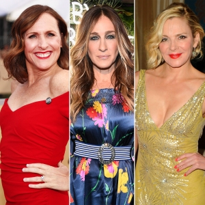 Molly Shannon, Sarah Jessica Parker and Kim Cattrall