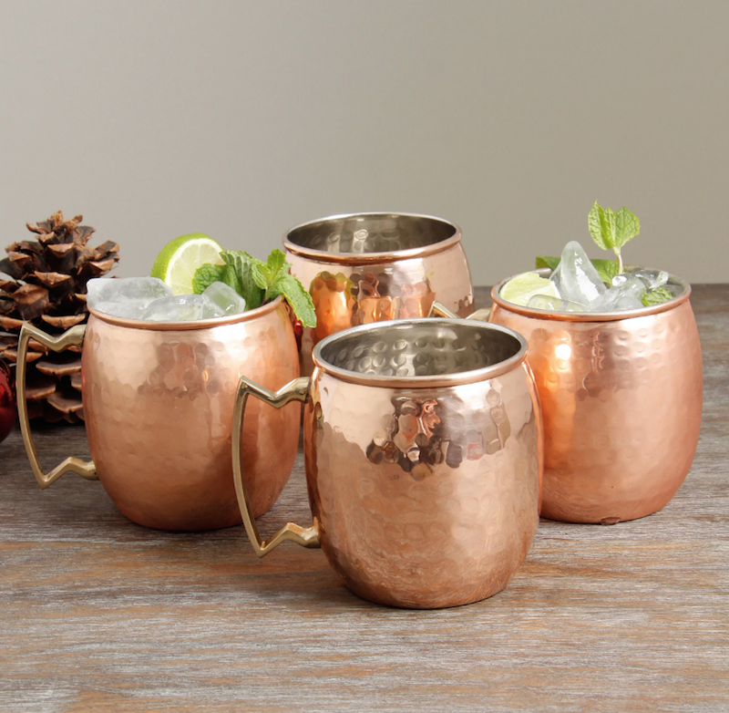 moscow mule set at overstock