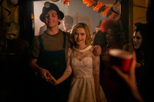 Kiernan Shipka And Ross Lynch Talk Sabrina And Harvey On