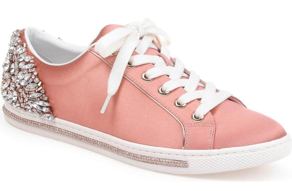 pink badgley mischka sneakers nordstrom