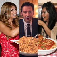 Celebs Eating Pasta Gallery