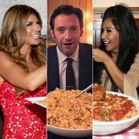 Celebs Eating Pasta Gallery