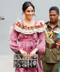 Pregnant Duchess Meghan Prince Harry Fiji