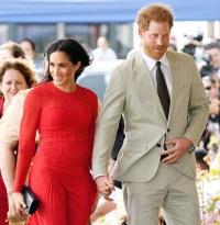 Pregnant Duchess Meghan Prince Harry Tonga