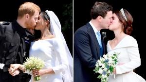 prince-harry-duchess-meghan-princess-eugenue-jack-wedding-kiss