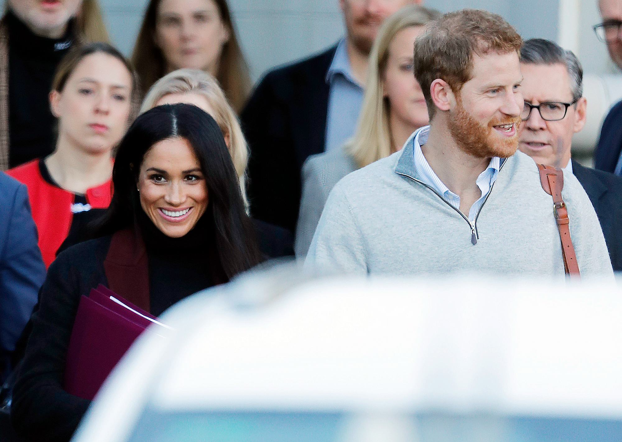 Prince Harry Duchess Meghan Sydney Arrival - The couple are set to climb the Sydney Harbor Bridge on Friday, October 19.