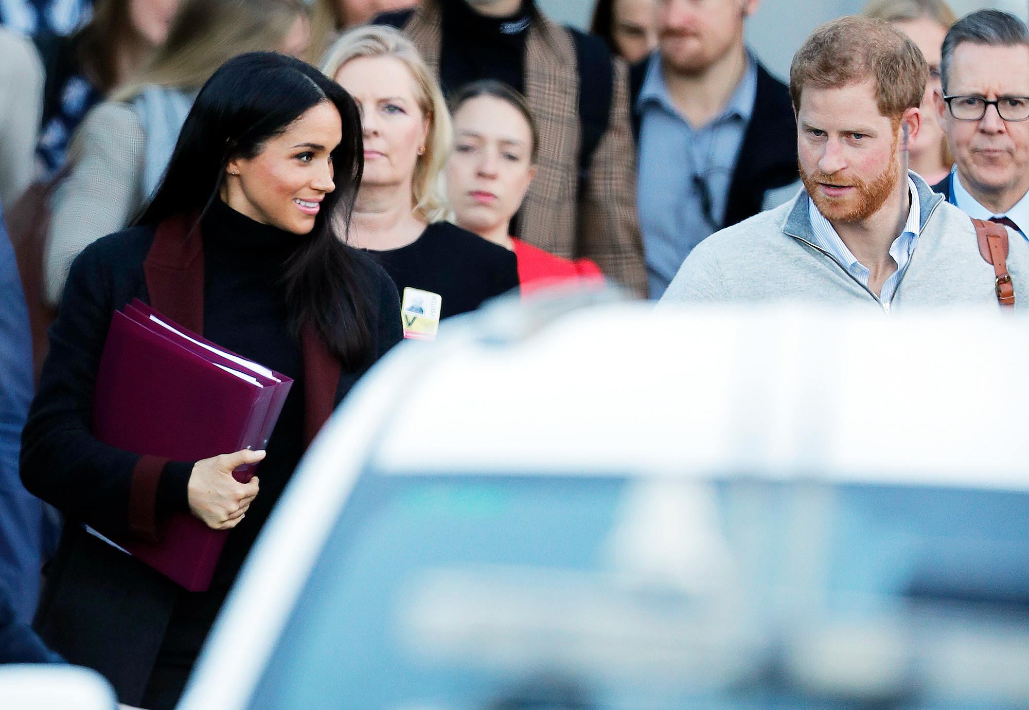 "Prince Harry Duchess Meghan Sydney Arrival - The Queen's former spokesperson Dickie Arbiter told The Mirror the trip will be a ""baptism of fire"" for Meghan but he expects the duchess will come through the rigorous tour ""with flying colors."""