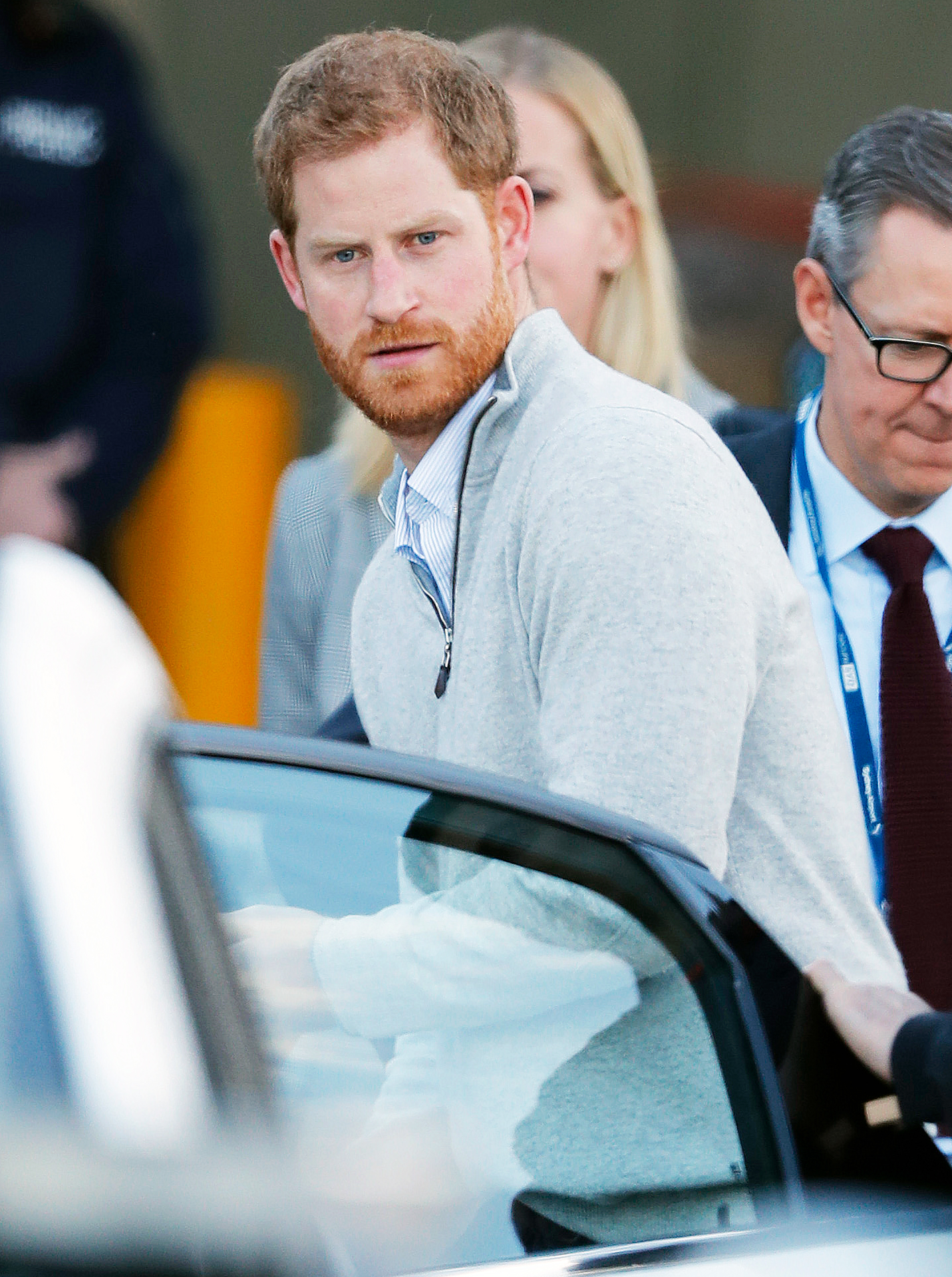 Prince Harry Duchess Meghan Sydney Arrival - Harry is set to open the Invictus Games, a competition for wounded veterans that he launched four years ago.