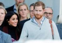 Prince Harry Duchess Meghan Sydney Arrival