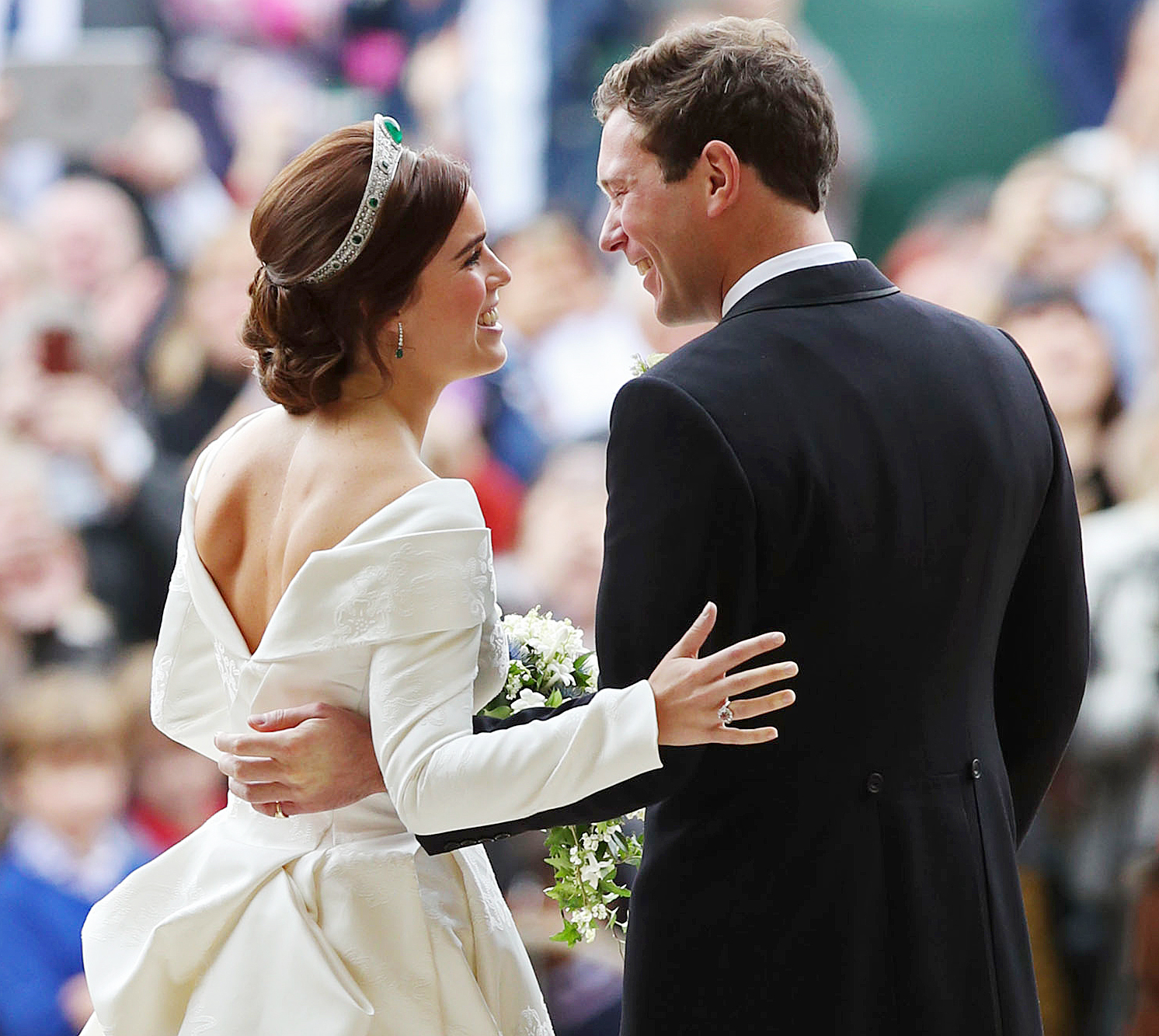 Gallery Royal Wedding Kisses: Princess Eugenie Proudly Displayed Back Scar At Royal Wedding