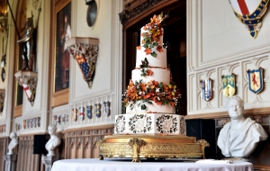 See Princess Eugenie and Jack Brooksbank's Fall-Inspired Wedding Cake