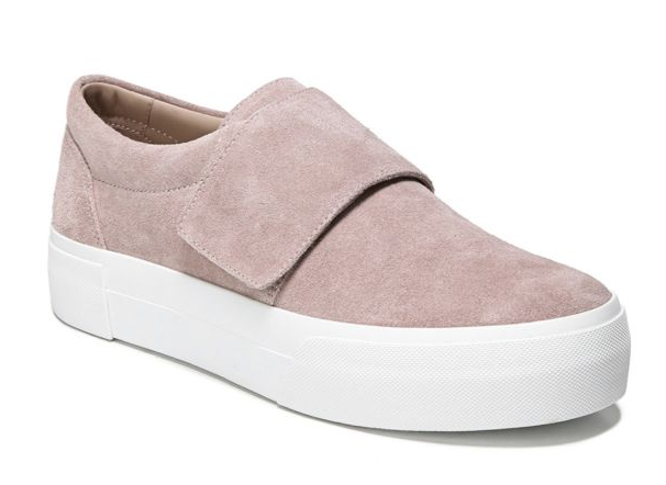 putty suede sneakers vince camuto