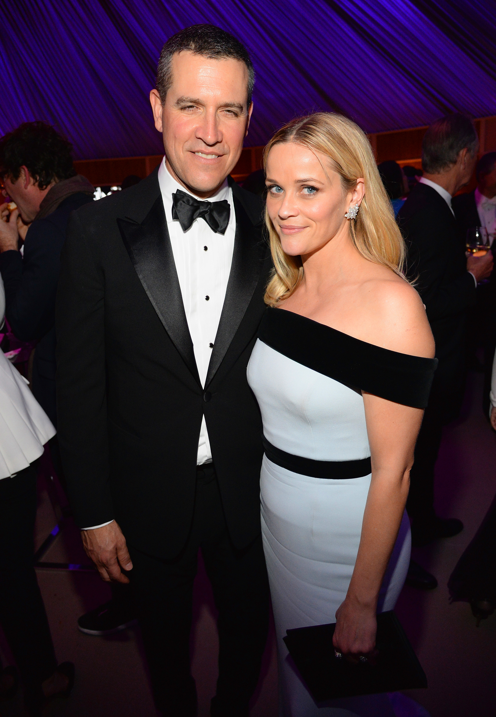 """hot rebound romances - Shortly after Witherspoon's mid-winter split from Jake Gyllenhaal , she and Hollywood agent Toth got together, debuting their romance in late March. The hot and heavy pair """"don't want to spend any time apart,"""" a source told Us in May."""