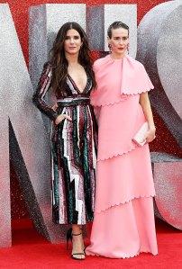 Sandra Bullock (L) and Sarah Paulso