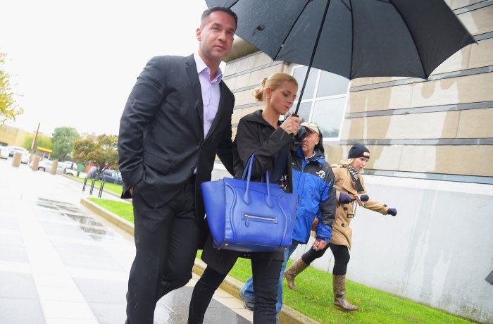 """Mike """"The Situation"""" Sorrentino and fiancee Lauren Pesce"""