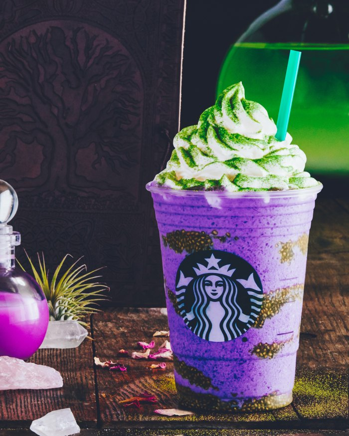 Starbucks' Witch's Brew Frappuccino Is 'Toad-Breath Flavored,' Has 'Bat Warts'