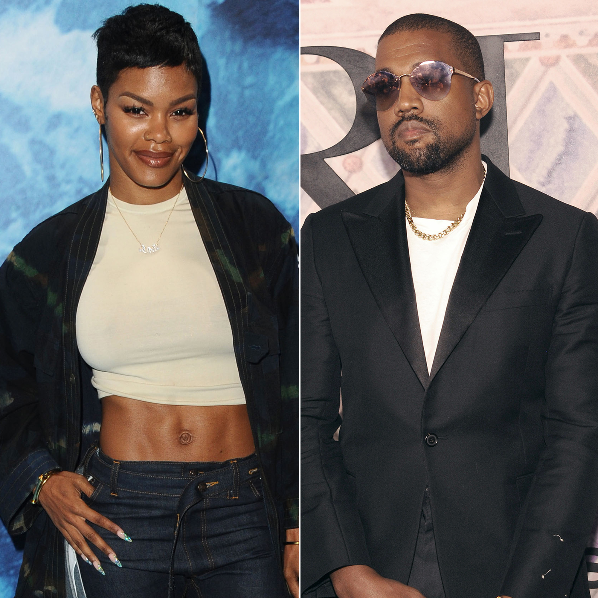 Teyana Taylor Raves About What Makes Kanye West a 'Great Father' - Teyana Taylor and Kanye West.