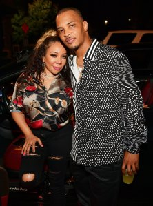 Tameka Harris and T.I.