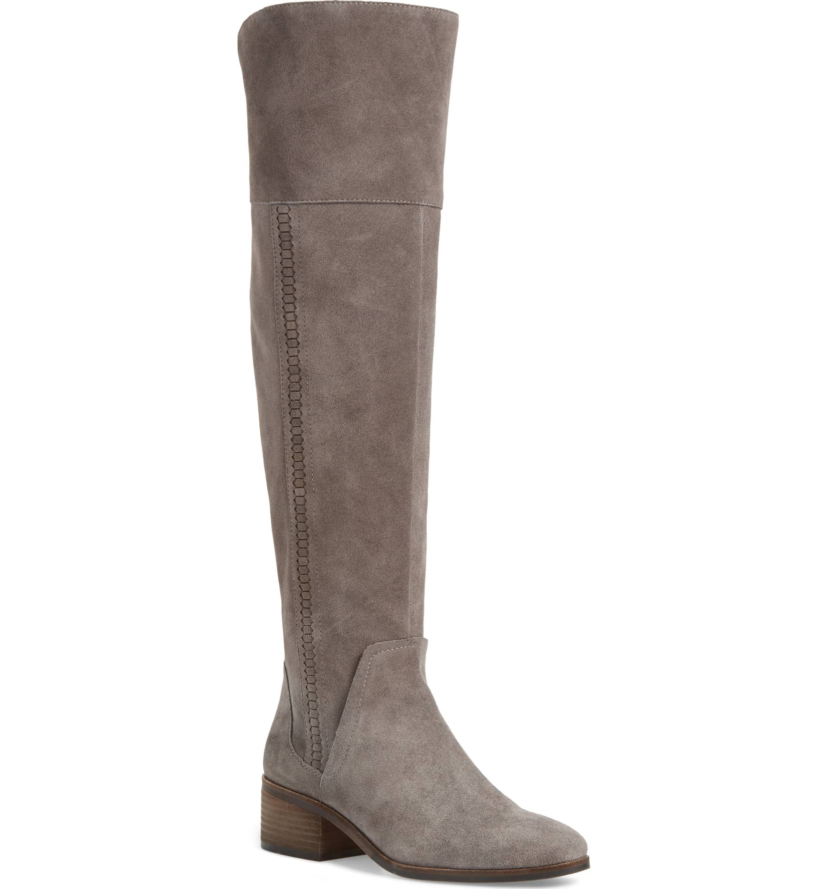 vince camuto gray suede boot nordstrom sale