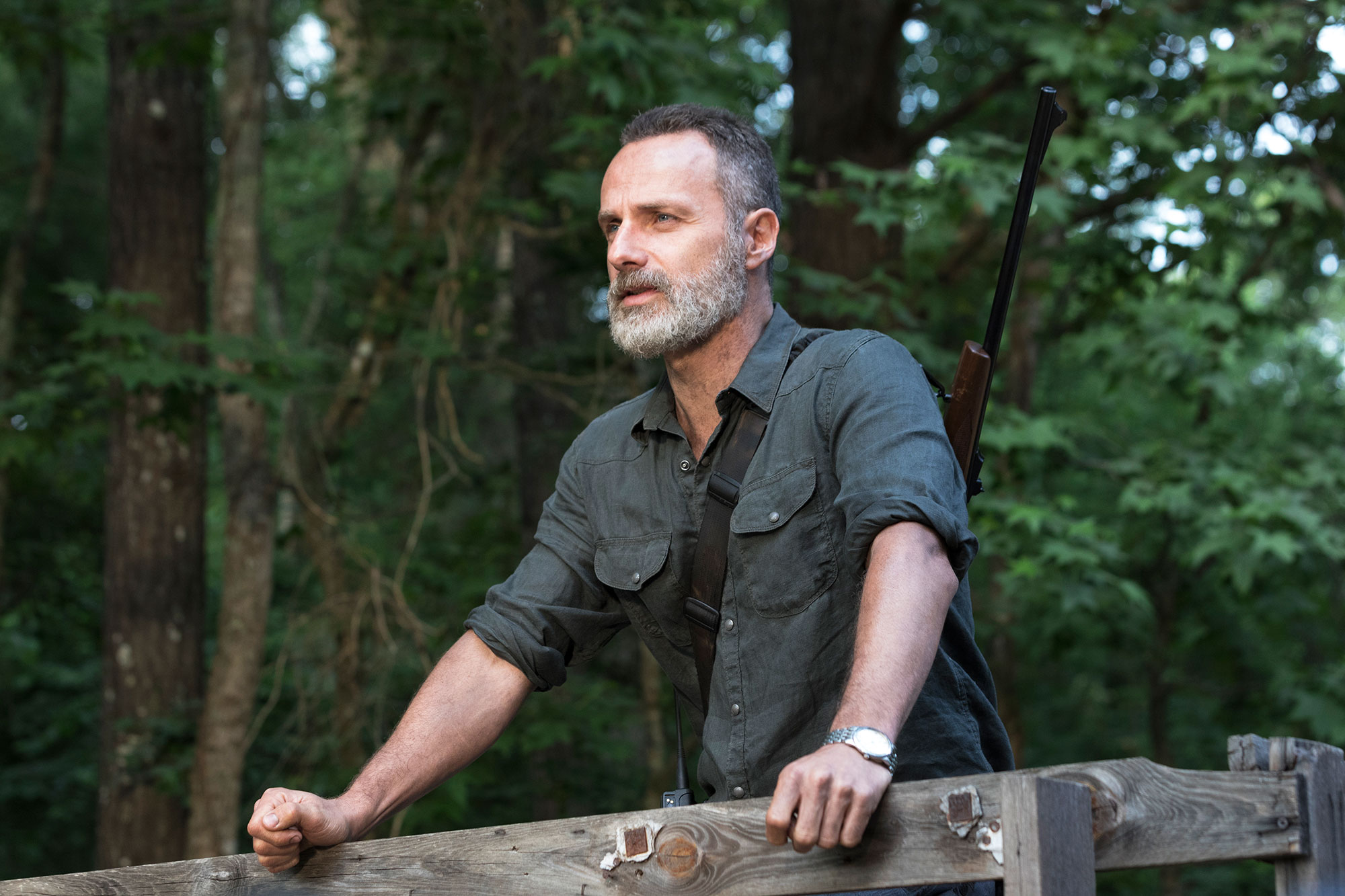 the walking dead Andrew Lincoln as Rick Grimes - Andrew Lincoln as Rick Grimes – The Walking Dead _ Season 9, Episode 2