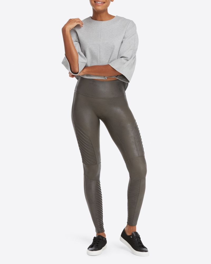 40508b64362733 Shop Our Favorite Spanx Faux Leather Moto Leggings at Nordstrom