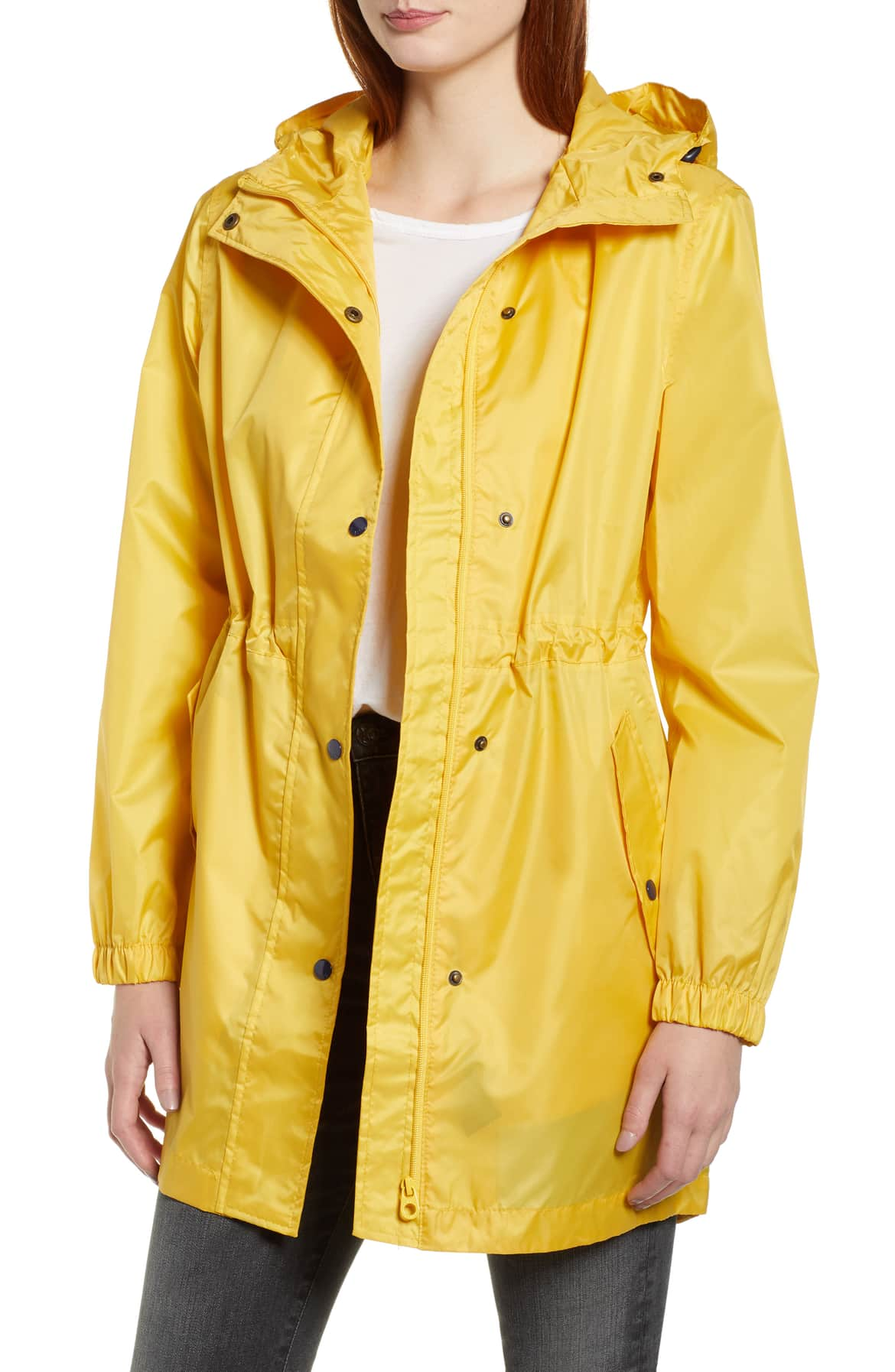 yellow packable hooded raincoat nordstrom